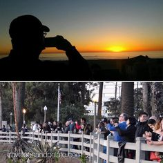 """While I take #sunset photos over Santa Monica Bay at Ocean View Park my daughter-in-law took an un-selfie of me (getting to like """"un-selfies) #California #santamonica #peoplewatching #naturephotography #beach"""