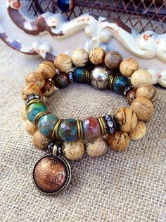 Rustic Fall Jasper Stacking Bracelet Set by CountryChicCharms is creative inspiration for us. Get more photo about diy home decor related with by looking at photos gallery at the bottom of this page. We are want to say thanks if you like to share this post to another people via …