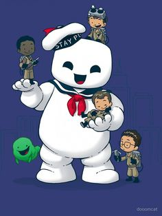 Puft Buddies T-Shirt - Ghostbusters T-Shirt is $11 today at TeeFury!