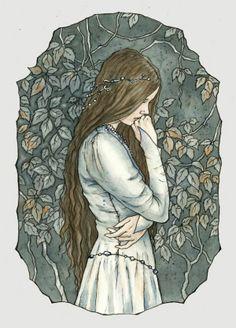 Reminds me of Niniel-Nienor. #Silmarillion #Children of Hurin