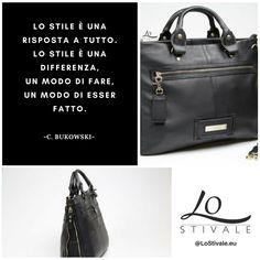 """""""Lo stile è una risposta a tutto. Lo stile è una differenza, un modo di fare, un modo di essere fatto."""" -Charles Bukowski  Per Info: ✉ info@lostivale.eu https://lostivale.eu/ #LoStivale #Style #Gioiello #Gioielli #Fashion #Articoli da #Regalo #Oro #Argento #Montblanc #Jewel #Jewels #Jewellery #Jewelry #Borsa #Bag #Stile #Differenza #Difference #Bukowski #CharlesBukowski #Aforisma #Aforismi #Citazione #Citazioni #Quote #Quotes"""