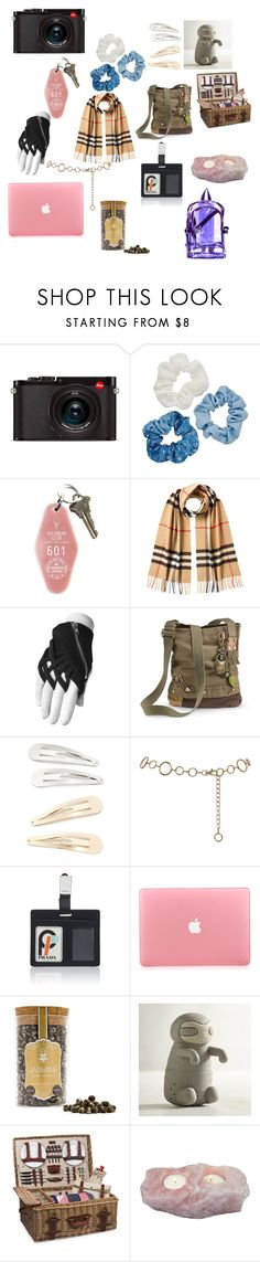 """""""Apocalypse essentials part two"""" by sydney24-hunter ❤ liked on Polyvore featuring Leica, Mudd, Burberry, Kitsch, M&Co, Choi Time, Pier 1 Imports and Picnic Time"""