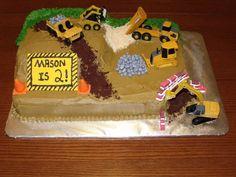 Construction Cake Designs | Construction Birthday Cake