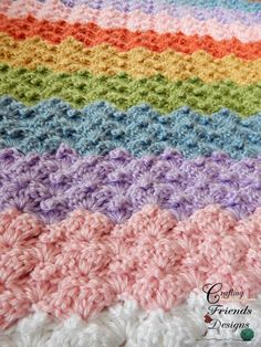 Luxury Crafting Friends Designs Peaked Shell Afghan Crochet Pattern Crochet Afghans Of Lovely Crochet Afghans Crochet Afghans Crochet Afghans, Baby Blanket Crochet, Easy Crochet, Crochet Baby, Crotchet, Crochet Blankets, Crochet Box Stitch, Chevron Baby Blankets, Unique Crochet