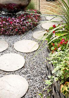 Rock Path, Backyard, Patio, Stepping Stones, Diy Home Decor, Outdoor Decor, Image, Design, Garden Ideas