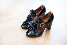 Une paire de chaussures très françaises Michel Vivien, à la très française boutique New Yorkaise de Kitsuné.