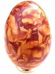 Kyle Savastano & Kellie Robinson - Satin Swirl egg     http://www.polymerclaycentral.com/satinegg.html