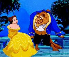 × Beauty and the Beast - Belle & Beast × on We Heart It Disney Couples, Disney Girls, Disney Princess, Mary Poppins Jolly Holiday, Beauty And The Beast Movie, Belle And Beast, Disney Movies, Disney Characters, Walt Disney Company