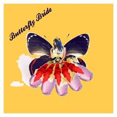 An art collage from January 2018 Butterfly, Bride, Polyvore, Animals, Design, Women, Art, Wedding Bride, Art Background