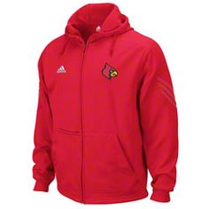 Louisville Cardinals adidas Red Pindot Primary Logo Full-Zip Fleece Hooded Sweatshirt $74.99 http://shop.uoflsports.com/Louisville-Cardinals-adidas-Red-Pindot-Primary-Logo-Full-Zip-Fleece-Hooded-Sweatshirt-_-927250738_PD.html?social=pinterest_pfid42-45101