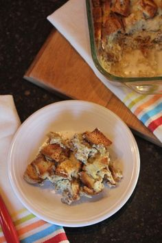 Dairy Free French Toast Casserole__