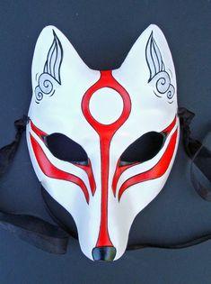Okami_Amaterasu_Kitsune_Mask_by_merimask.jpg (900×1204)