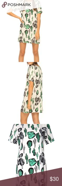 Cactus print dress Adorable, soft cactus print dress. Worn twice. In perfect condition. Motel Rocks Dresses