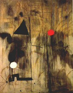 Joan Miro: The birth of the world (1925), oil on canvas. This is one of the…
