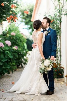 romantic al fresco summer wedding