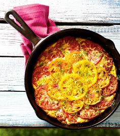 Tomato and Green Onion Frittata | Canadian Living