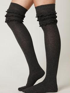 tall socks for knee-high boots