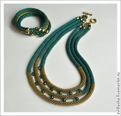 A nice example of what to do if you make too many rope chains....actually....a lovely design.