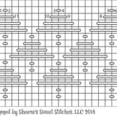 Tree Darning Pattern