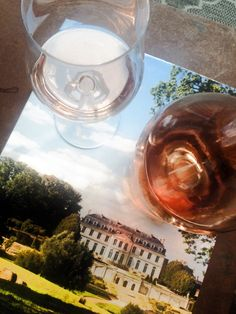 chilled Rosé with Timothy Corrigan's invitation to Château du Grand-Lucé