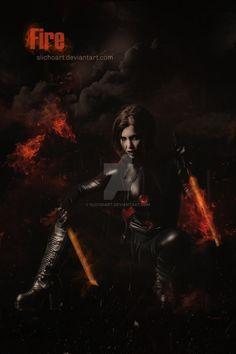 Fire by SlichoArt on DeviantArt
