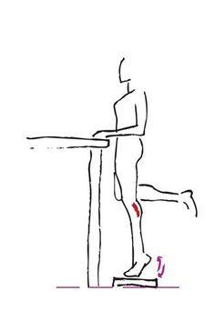 Übung für schlanke Waden - Die besten Bauch-Beine-Po-Übungen - Nicht nur die Oberschenkel sollen schön straff und schlank, auch die Waden sollen vorzeigbar sein. Mit dieser Übung bringen Sie sie in Form! Übung: Stellen...