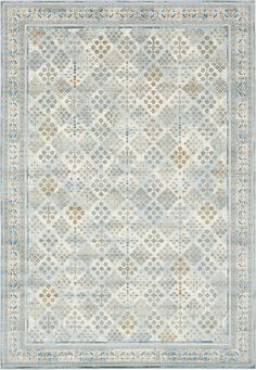 Light Blue 8' x 11' 2 Montreal Rug | Area Rugs | eSaleRugs