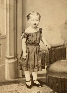 Young Girl IN Dress CIVIL WAR ERA Shiny Shoes Antique CDV Photo Photograph | eBay