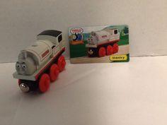 Stanley Train Car Thomas Friends Character Card Wooden Gullane 2003 #Gullane