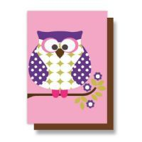 Olive & Moss Otto the Owl Card #owl #card