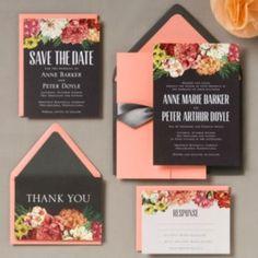 Bouquet Wedding Invitation - Anne & Peter | Paper Source