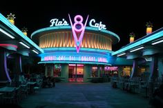 Cars Land cuisine impresses Disneyland guests with unique roadside eats at Flo's V8 Cafe and Cozy Cone Motel