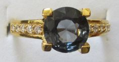 Blue Sapphire Ring: 1,90 ct - www.kn-jewellery.com