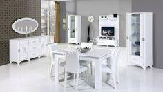#beyaz #yemek #odası #takımı #mobilya #furniture #dining #room  blog.mobilyam.com.tr/beyaz-renk-yemek-odasi-takimi-dargon/