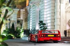 The Ferrari F40 is a mid-engine, rear-wheel drive, two-door coupé sports car produced by Ferrari from 1987 to 1992 as the successor to the Ferrari 288 GTO.