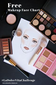 #freefacechart #facechart Facechart Makeup, Makeup Face Charts, How To Apply Makeup, Everyday Makeup, Makeup Yourself, Create Yourself, Blogging, Eyeshadow, Make Up