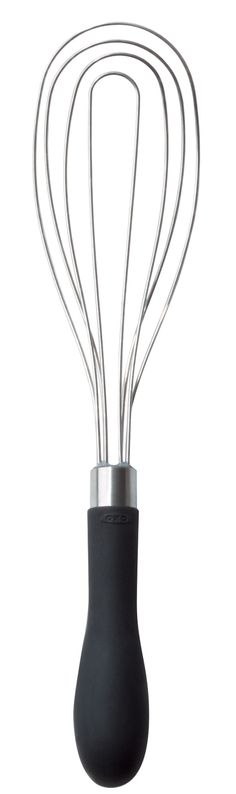 Features:  -Good Grips collection.  -Material: Stainless steel.  -Dishwasher safe.  -Soft non-slip grip.  Product Type: -Whisk.  Utensil Head Material: -Stainless Steel. Dimensions:  Overall Length -