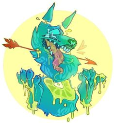 im love gore art , it's so cooool Animal Drawings, Cool Drawings, Candy Gore, Character Art, Character Design, Amor Animal, Goth Art, Horror Art, Creature Design