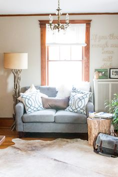 The Best Coastal Paint Colors I Finding Silver Pennies - Revere Pewter in our Office