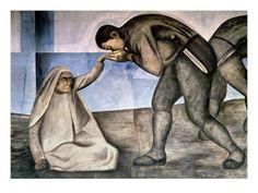 Farewell- Jose Clemente Orozco, 1926.  Art Experience NYC  www.artexperiencenyc.com