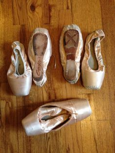 Used Pointe Shoes ballerina ballet freed capezio bloch craft ballet slippers