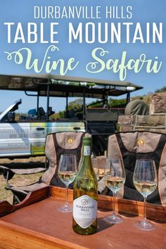 Table Mountain is an iconic landmark in Cape Town but, rather than hiking or taking the cable car up, try a Table Mountain wine safari! Malaga Airport, Wine Safari, Cape Town South Africa, Table Mountain, Africa Travel, Best Cities, Wine Tasting, Trip Planning, Travel Tips