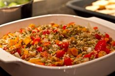 Endo Diet- lentil casserole (lots of other great endo recipes on her blog as well)