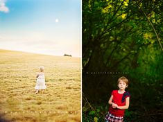 The image on the left was done with a 45mm tilt shift. Beautiful or what?