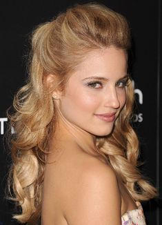 2013 Beautiful Long Curly Hairstyles for Prom