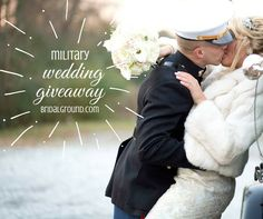 ‪#‎Military‬ ‪#‎Wedding‬ ‪#‎Giveaway‬ ~ Hurry, enter by July 27! Bridal Ground is giving away a Simply Styled Pop Up Wedding (90 minute ceremony and reception) to an engaged military couple planning an Atlanta-area wedding. http://www.operationwearehere.com/Wedding.html