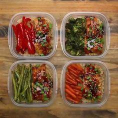 3 Day Meal Prep Under 1700 calories Health Meal Prep, Easy Healthy Meal Prep, Health Dinner, Easy Healthy Recipes, Healthy Snacks, Easy Meals, Healthy Eating, Fitness Meal Prep, Kid Snacks