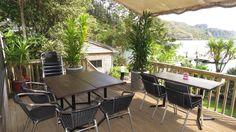 Restaurant deck seating for breakfast, lunch or dinner