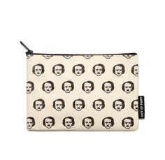 This Edgar Allen Poe pouch, which they can use carry their black eyeliner and Kat Von D Studded Lipstick in Poe. | 26 Gifts For Your Friend Who's Obsessed With Horror Movies