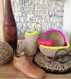 Love a parcel delivery especially when its from Temple and Webster. Thank you Crayonchick for my gorgeous jute bowls, vase and mat. They are even more special now that I have met the talented lady behind these creations....